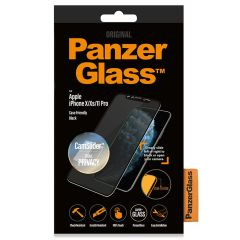 PanzerGlass CamSlider™ Privacy Screenprotector iPhone 11 Pro / Xs / X