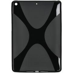 X-line Backcover iPad 10.2 (2019 / 2020) - Zwart