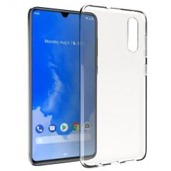 Accezz Clear Backcover Samsung Galaxy A70 - Transparant