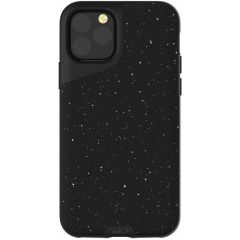 Mous Contour Backcover iPhone 11 Pro Max - Speckled Black Leather