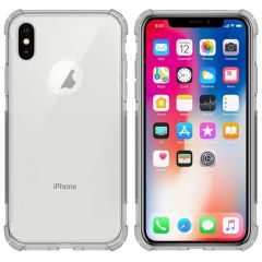 iMoshion Shockproof Case iPhone Xs / X - Transparant