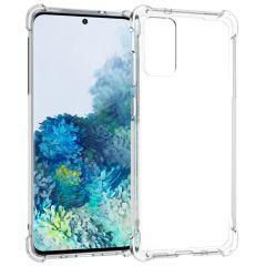 iMoshion Shockproof Case Samsung Galaxy S20 Plus - Transparant