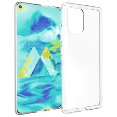 Accezz Clear Backcover Samsung Galaxy S10 Lite - Transparant
