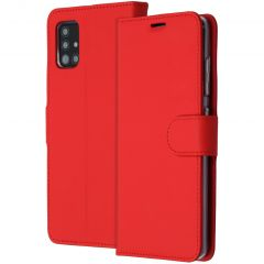 Accezz Wallet Softcase Booktype Samsung Galaxy A51 - Rood
