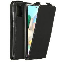 Accezz Flipcase Samsung Galaxy A71 - Zwart