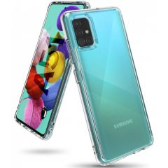 Ringke Fusion Backcover Samsung Galaxy A51 - Transparant