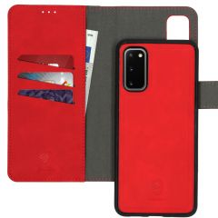 iMoshion Uitneembare 2-in-1 Luxe Booktype Samsung Galaxy S20 - Rood