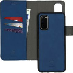 iMoshion Uitneembare 2-in-1 Luxe Booktype Samsung Galaxy S20 - Blauw