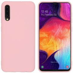 iMoshion Color Backcover Samsung Galaxy A50 / A30s - Roze
