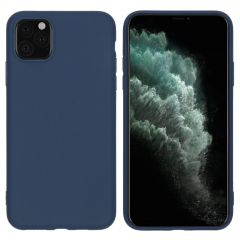 iMoshion Color Backcover iPhone 11 Pro Max - Donkerblauw