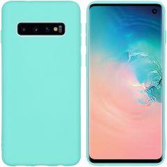 iMoshion Color Backcover Samsung Galaxy S10 - Mintgroen