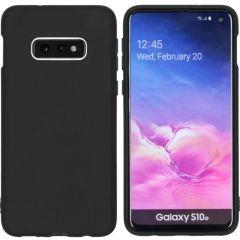 iMoshion Color Backcover Samsung Galaxy S10e - Zwart