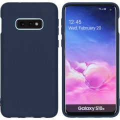 iMoshion Color Backcover Samsung Galaxy S10e - Donkerblauw