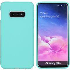 iMoshion Color Backcover Samsung Galaxy S10e - Mintgroen