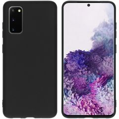 iMoshion Color Backcover Samsung Galaxy S20 - Zwart