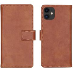 iMoshion Luxe Booktype iPhone 11 - Bruin