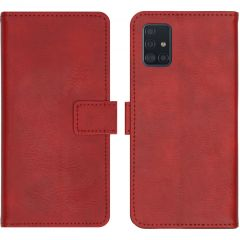 iMoshion Luxe Booktype Samsung Galaxy A51 - Rood