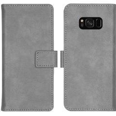 iMoshion Luxe Booktype Samsung Galaxy S8 - Grijs