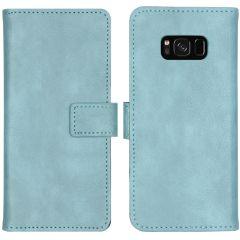 iMoshion Luxe Booktype Samsung Galaxy S8 - Lichtblauw