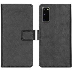 iMoshion Luxe Booktype Samsung Galaxy S20 - Zwart