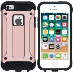iMoshion Rugged Xtreme Backcover iPhone SE / 5 / 5s - Rosé Goud