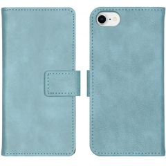 iMoshion Luxe Booktype iPhone SE (2020) / 8 / 7 / 6(s) - Lichtblauw