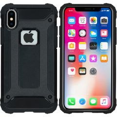 iMoshion Rugged Xtreme Backcover iPhone X - Zwart