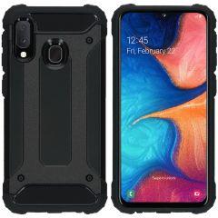 iMoshion Rugged Xtreme Backcover Samsung Galaxy A20e - Zwart