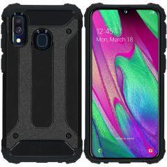iMoshion Rugged Xtreme Backcover Samsung Galaxy A40 - Zwart