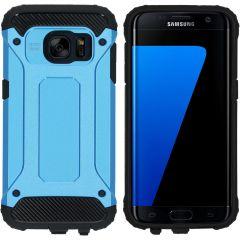 iMoshion Rugged Xtreme Backcover Samsung Galaxy S7 - Lichtblauw