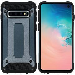 iMoshion Rugged Xtreme Backcover Samsung Galaxy S10 - Donkerblauw