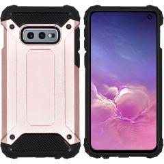 iMoshion Rugged Xtreme Backcover Samsung Galaxy S10e - Rosé Goud