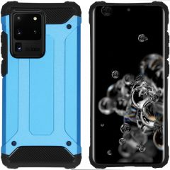 iMoshion Rugged Xtreme Backcover Galaxy S20 Ultra - Lichtblauw