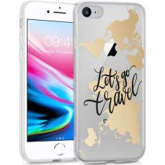 iMoshion Design hoesje iPhone SE (2020) / 8 / 7 /6s - Let's Go Travel