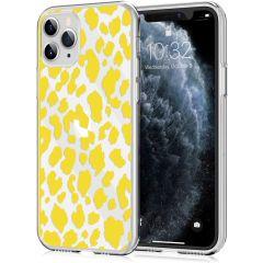 iMoshion Design hoesje iPhone 11 Pro - Luipaard - Geel