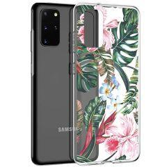 iMoshion Design hoesje Galaxy S20 Plus - Jungle - Groen / Roze