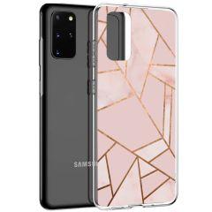 iMoshion Design hoesje Galaxy S20 Plus - Grafisch Koper - Roze