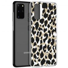iMoshion Design hoesje Galaxy S20 Plus - Luipaard - Goud / Zwart