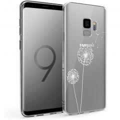 iMoshion Design hoesje Samsung Galaxy S9 - Paardenbloem - Wit