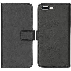 iMoshion Luxe Booktype iPhone 8 Plus / 7 Plus - Zwart