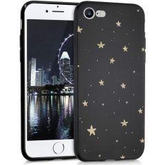 iMoshion Design hoesje iPhone SE (2020) / 8 / 7 - Sterren - Zwart