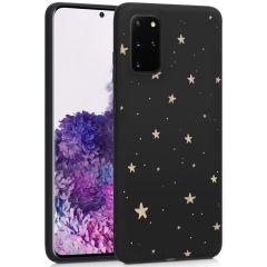 iMoshion Design hoesje Galaxy S20 Plus - Sterren - Zwart / Goud