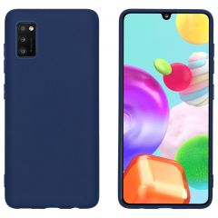 iMoshion Color Backcover Samsung Galaxy A41 - Donkerblauw