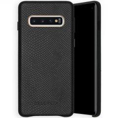 Selencia Gaia Slang Backcover Samsung Galaxy S10 - Zwart