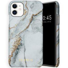 Selencia Maya Fashion Backcover iPhone 11 - Marble Stone