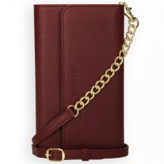 Selencia Uitneembare Slang Clutch Galaxy A50 / A30s - Donkerrood
