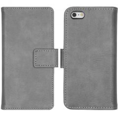 iMoshion Luxe Booktype iPhone 5 / 5s / SE - Grijs