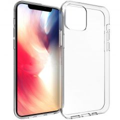 Accezz Clear Backcover iPhone 12 (Pro) - Transparant