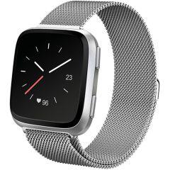 iMoshion Milanees Watch bandje Fitbit Versa 2 / Versa Lite - Zilver