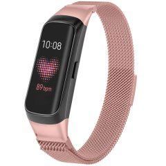 iMoshion Milanees Watch bandje Samsung Galaxy Fit - Roze